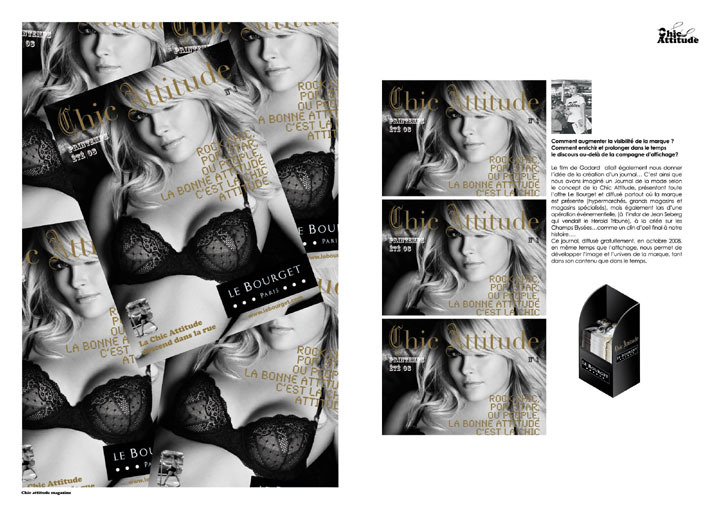 corrida ole magazine 04 - Le Bourget campagne 2008 - Chic Attitude