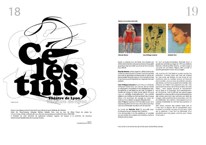corrida ole magazine 04 - Théatre des Célestins - saison 2007/2008