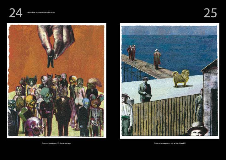 corrida ole magazine 04 - Théatre des Célestins - saison 2008/2009 - illustrations Chloé Poizat