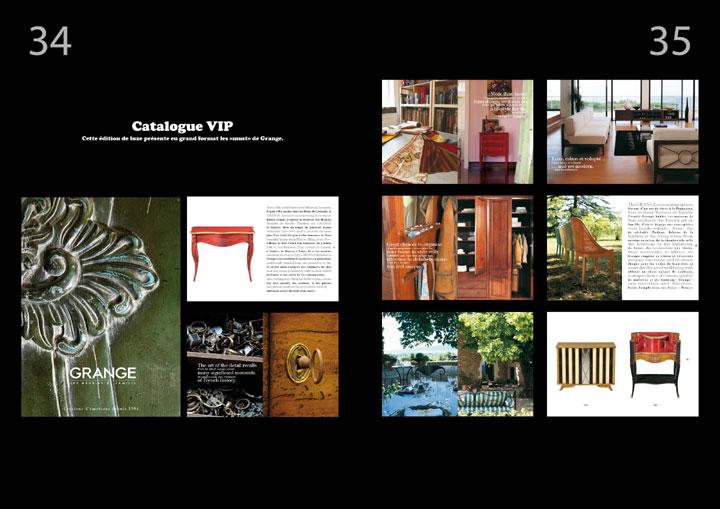corrida ole magazine 04 - Granges les meubles de famille - catalogue VIP des must de Grange