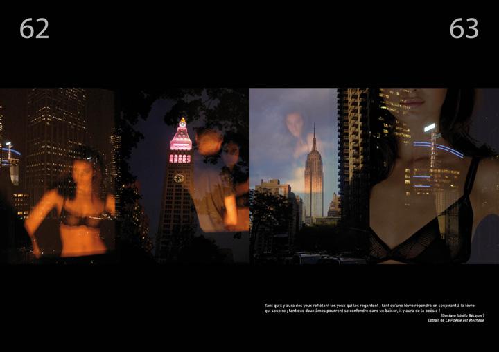 corrida ole magazine 04 - Reflexions nocturnes New York City