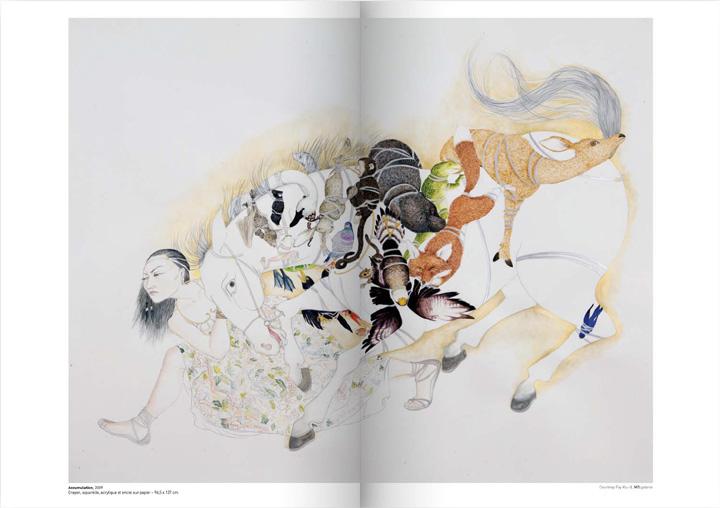 agence corrida ole magazine saison 05 p66 - Invitation : Fay Ku